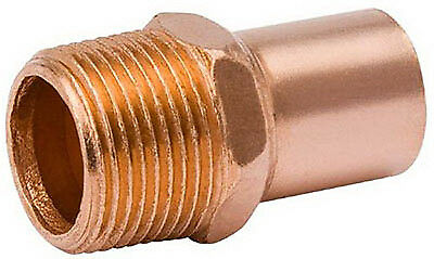 B&K LLC 1/2-Inch Male Pipe Thread Wrot Copper Street Adapter W 61431