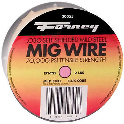 FORNEY INDUSTRIES INC Flux Corded Wire, .030, 2-Lb. Spool 42300
