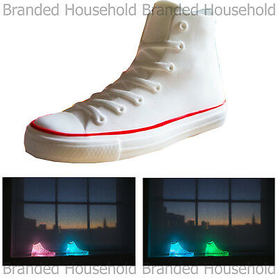 Spearmark Sneaker Trainer Led Light Changing Color Funky Retro Light