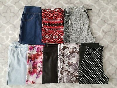 Girls River Island Leggings clothes bundle (8 items) age 9 - 10 Years