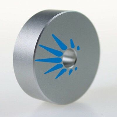 45 RPM Adapter Solid Aluminum for Most Vinyl Record Turntables 1.8oz Replaces...