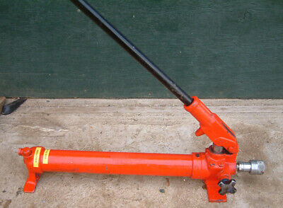 Porta Power, Hydraulic Hand Pump, 1.0L, 250mm Stroke, 700 Bar  Hi-Force HP110,