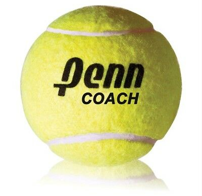 Penn Coach Tennis Balls (3-Pack) - Perfect for learners or a slower game