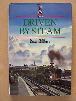 """driven By Steam."" Ian Allan Autobiography. Book."