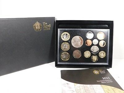 2011 The Royal Mint United Kingdom Proof Coin Set