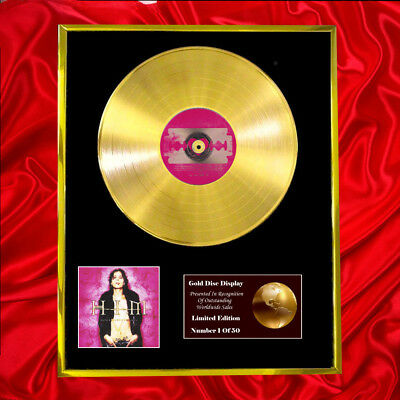 Him Razorblade Romance Cd  Gold Disc Vinyl Record Award Display Lp