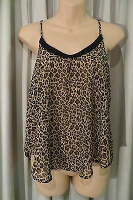 VINTAGE ~ Girl Express ~  Animal SWING CAMISOLE * Size 10 * SALE !!