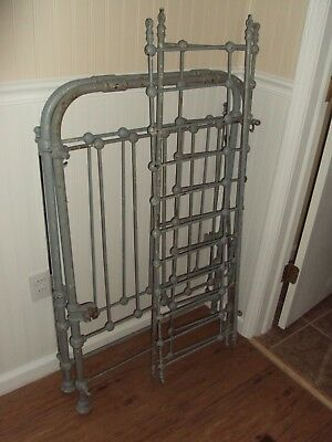 "Vintage IRON Garden Gate Yard Art Architectural Salvage ""LOT""  Repurpose 43""X29"""