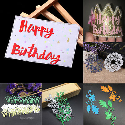 Craft Metal Cutting Dies Stencil Scrapbooking Paper Card Embossing DIY Tools LOT