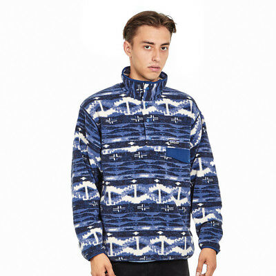 Patagonia - Synchilla Snap-T Pullover Shepherd Knit: Stone Blue Rundhals