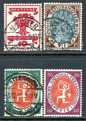 Germany Postage Stamps Scott 105-108, Used Complete Set!! G284b
