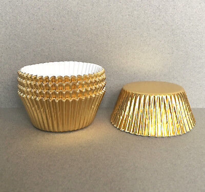Metallic Gold Cupcake Standard LinersBakell® Liners /& Wrappers