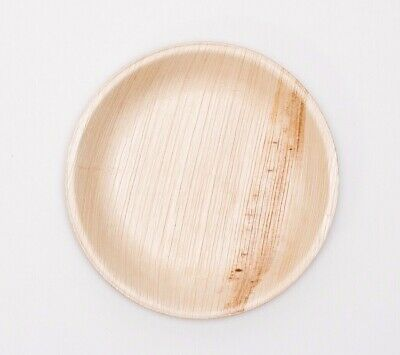 "10"" Palm Leaf Plate (Both 25pcs and 100pcs available)"