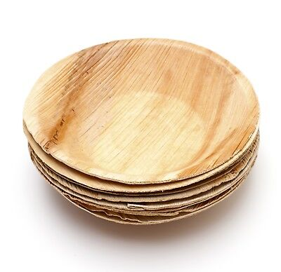 "5"" Palm Leaf Round Bowl (Both 25pcs and 100pcs available)"