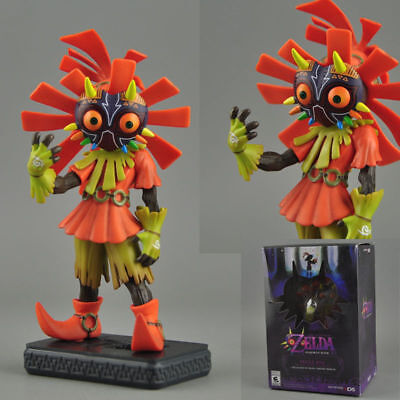 5.5 inch The Legend of Zelda Majora's Mask 3D SKULL KID Collectible Figure toy
