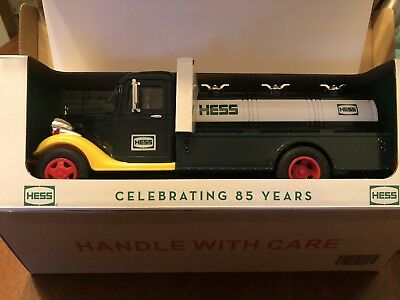 2018 Hess Truck Limited Collectors Edition 85th Anniversary NIB - FREE SHIPPING