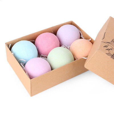 Bath Bomb Gift Set Box Moisturizing W/ Organic Natural Essential Oil Relax Lush
