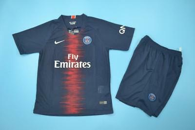 Complet, maillot et shorts, enfant, PSG Paris Saint Germain