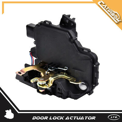 Front Door Lock Actuator & Latch Driver Left LH for Jetta Passat Golf Beetle GTI