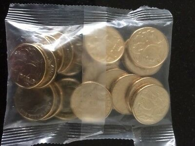 2018-2019 $1 Dollar RAM Bags x 20 coins A  U  S Privy Mark UNC in secured bags