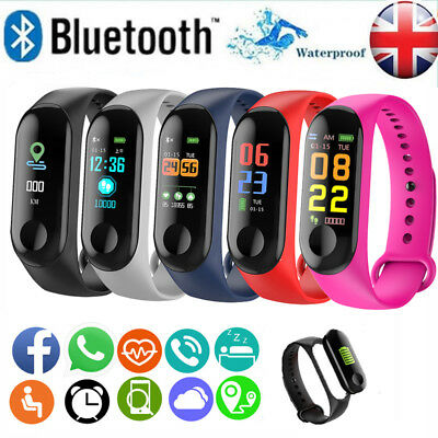 Fitness Smart Watch Activity Tracker Women Men Kids For Android iOS Heart Rate