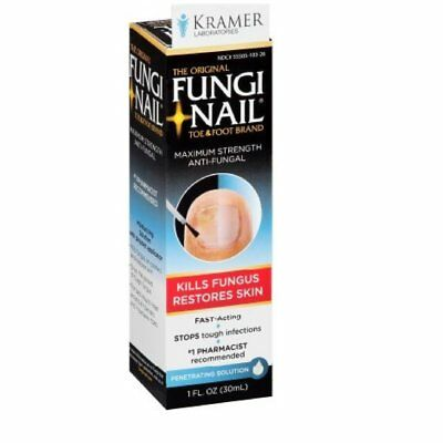 Fungi-Nail Brand Anti-Fungal Solution 1 oz (Pack of 5)