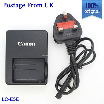 Genuine Canon Battery Charger LC-E5E for LP-E5 EOS 450D 500D 1000D Rebel XS XSI