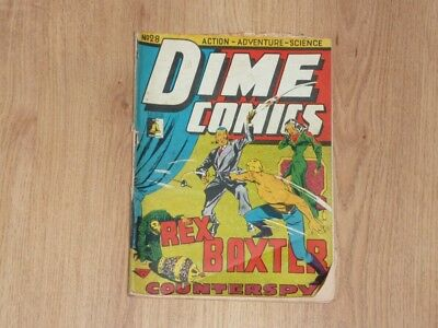 Dime Comics #28 - Bell Features - Golden Age - 1940's - Canadian Issue - PR
