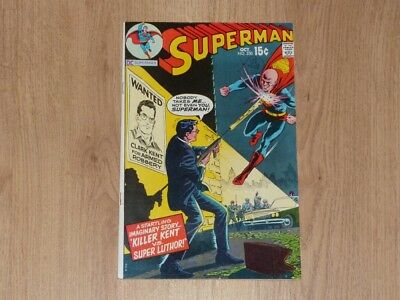 Superman #230 - DC 1970 - FN+ - Lex Luther