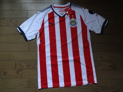 b0df97f82 Chivas Guadalajara 100% Original Jersey Shirt M 2017 18 Home Kit BNWT NEW