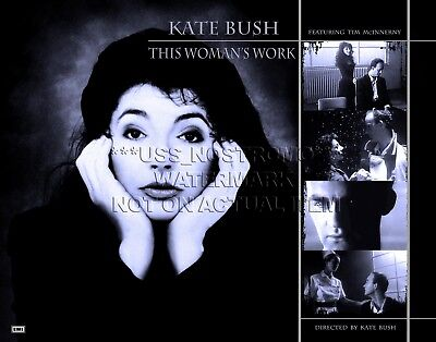 Tim McInnerny  hand signed  This Woman's Work 11x14 inch print Kate Bush