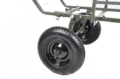 Prestige Carp Porter NEW Model MK2 Triporter Barrow Rear Wheels