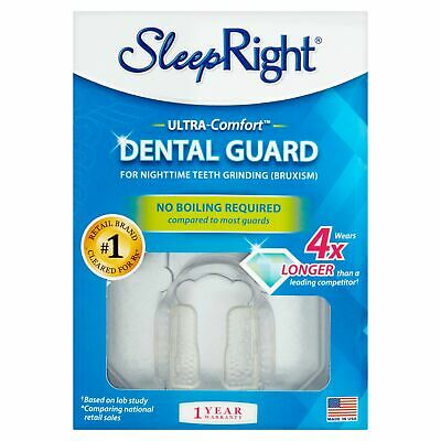 SleepRight Slim-Comfort Dental Guard - Mouth Guard To Prevent Teeth Grinding...