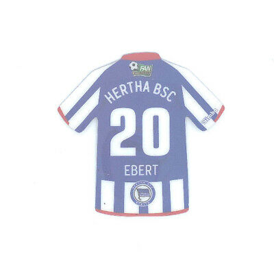 Hertha BSC Berlin Magnet Trikot Simba FAN COLLECTION Fussball #20 EBERT
