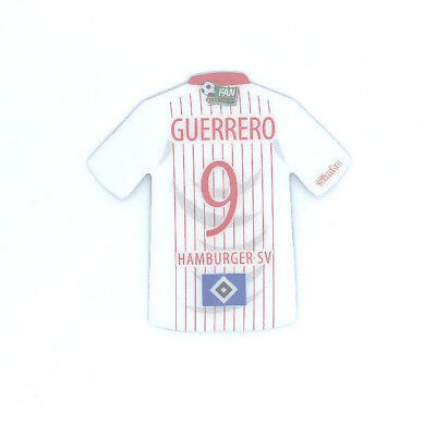 Hamburger SV Magnet Trikot Simba FAN COLLECTION Fussball #9 GUERRERO
