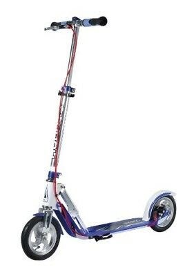 HUDORA Big Wheel Air Dual Brake Luftreifen-Scooter, Handbremse Tret-Roller, City