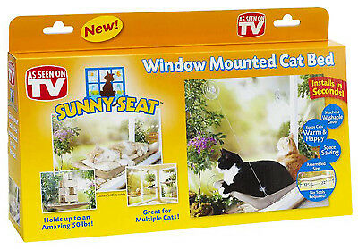 OSTER PROFESSIONAL Cat Window Seat, Suction DRP-SUNY-BLT6