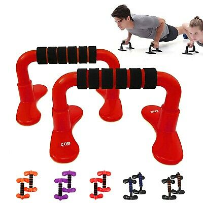 XN8 Push Up Bars Stand With Foam Handles Chest Press Pull Fitness Exercise Gym