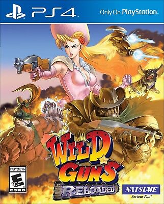 Wild Guns: Reloaded (PlayStation 4) BRAND NEW & FACTORY SEALED ps4