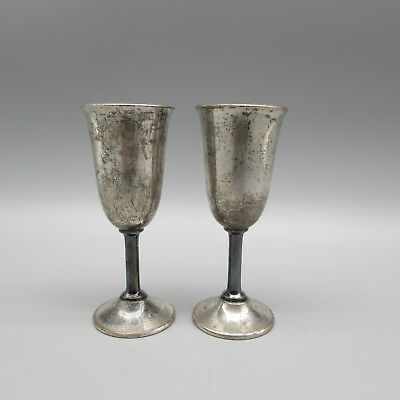 SET OF TWO - International Sterling LORD SAYBROOK Cordial Glasses