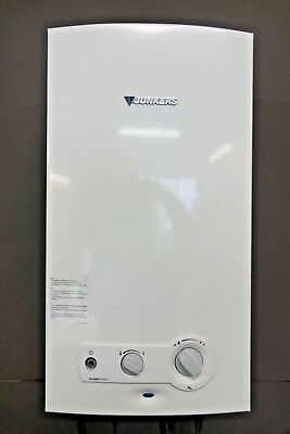 JUNKERS JETATHERMCOMPACT WR 11-2 G23 S7695 Gas-Durchlauferhitzer Boiler Bj.2009