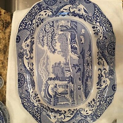 Spode, Blue Italian,  64 pieces , various items, perfect condition.