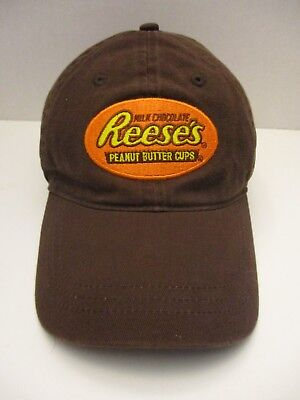 Nice! Reeses Peanut Butter Cups Hat Cap Milk Chocolate In Good Shape!