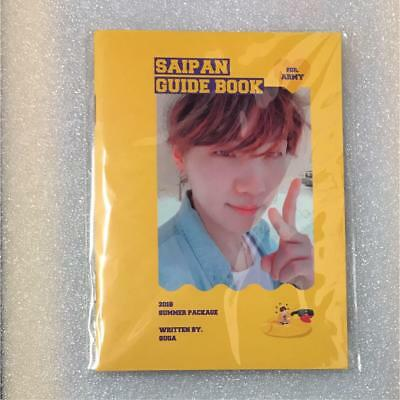 BTS SUGA Summer Package 2018 Saipan Guide Book Selfie photobook only