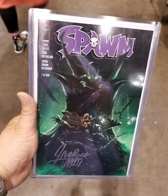 Spawn 285 Francesco Mattina Signed Convention Exclusive Virgin & Trade Set