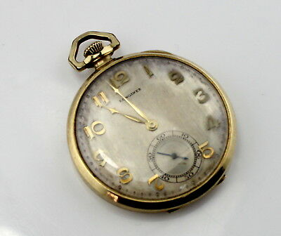 Longines Pocket Watch Vintage 15 Jewels Running Swiss Made No Reserve #3268
