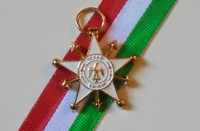 Mexico Battle Republic Texas IAlamo ndependence Rangers War Medal Badge Mexican