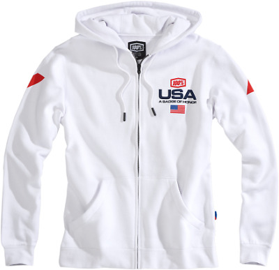 100% Motocross De Nations Mxdn Limited Edition Zip Sweatshirt Xxlarge