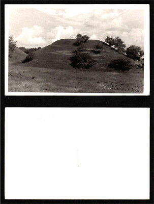 Lithuania; POSTCARD 'Kernave Castle Hill' PHOTO IMAGE; 1920s.