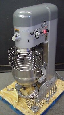 HOBART 80QT 80 QT Dough Mixer Pizza Bakery Quart 60 30 140 3 HP *Three Phase*